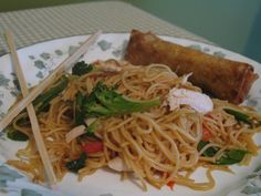 No-Pain Lo Mein (Rachael Ray)