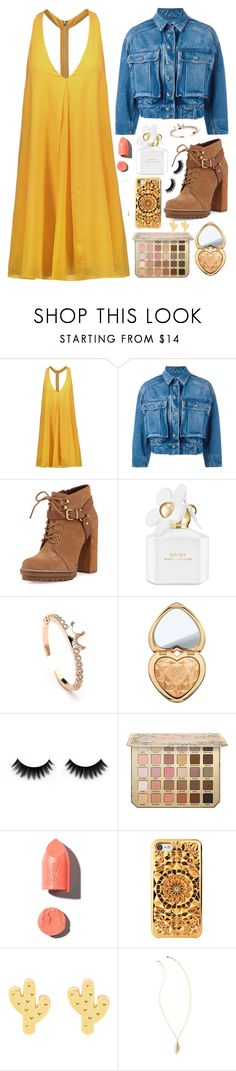 """""""Forever fresh"""" by tigerlily789 ❤ liked on Polyvore featuring Alice + Olivia, Dolce&Gabbana, BCBGeneration, Marc Jacobs, Too Faced Cosmetics, PUR, Felony Case and Lilly Pulitzer"""