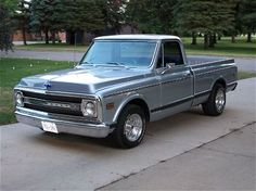 69 Chevy c-10......Papas gunna get it for me
