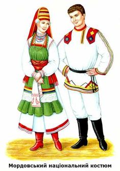 Мордовський національний костюм Fabric Doll Pattern, Fabric Dolls, Traditional Art, Traditional Outfits, Develop Pictures, Folk Costume, People Of The World, Central Asia, Samara