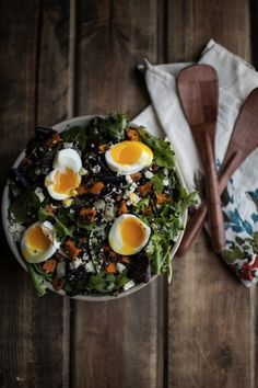 Sweet Potato And Quinoa Salad With Soft Boiled Egg | 29 Delicious Things To Cook In February