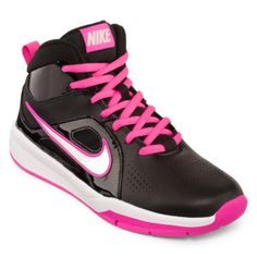 Nike® Hustle D6 Girls Basketball Shoes - Big Kids found at  JCPenney Girls  Basketball aedb1baf0