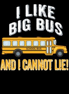 I Like Big Bus! And I Cannot Lie!
