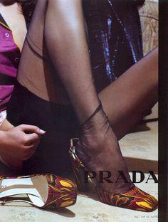 holliesgolightly:  Prada Fall/Winter 2003. Daria Werbowy by Steven Meisel
