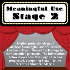 How Meaningful Use has progressed from stage I to stage II.