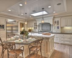 Cool and comfortable kitchen