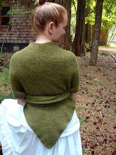 Pioneer shawl.