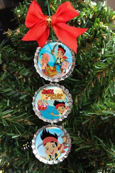 Jake and the Neverland Pirates Christmas Tree by BeanTownStickers, $6.99