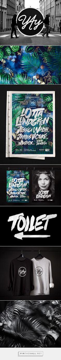 #Yay #Festival #2013 #identity #brand #branding on Behance - created via