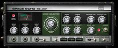 Roland® Space Echo Tape Delay Plug-In from Universal Audio Music Mix, Soul Music, Synthesizer Music, Space Echo, Better Music, Recorder Music, Studio Setup, Recording Studio, Electronic Music