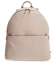July vegan leather backpack by Matt & Nat. A lightly structured backpack in textured vegan leather features a nylon lining made from recycle...