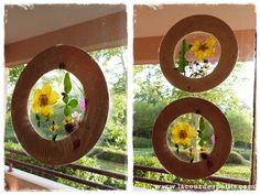 Activité d'automne : des feuilles à nos fenêtres |La cour des petits