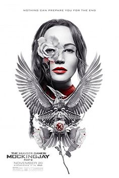 THE HUNGER GAMES: MOCKINGJAY Part 2 - 13x19 Original Promo Movie Poster IMAX Embossed Version Jennif @ niftywarehouse.com