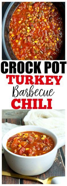 Easy and healthy Crock Pot recipe. Easy and healthy Crock Pot recipe. Best Soup Recipes, Healthy Crockpot Recipes, Slow Cooker Recipes, Healthy Chili, Healthy Food, Healthy Eating, Weeknight Recipes, Favorite Recipes, Happy Healthy