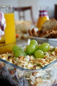 Healthy Desserts, Healthy Recipes, Tortellini, Party Snacks, Feta, Potato Salad, Macaroni And Cheese, Diet Recipes, Catering