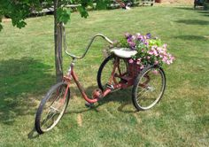 YARD – great design! Park It and Plant It! Wheels In The Garden.
