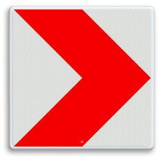 Verkeersbord ARD RVV BB12r - Bochtschilden - Verkeersborden RVV   Informatiebord.nl