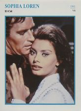 Sophia Loren - American Actress Film/Movie/Cinema Trading Card
