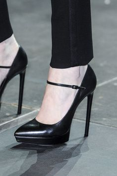Saint Laurent Spring 2013...Hello? These are the perfect GARDEN DIBBLES! Just saying...