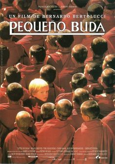 Pequeño Buda - Little Buddha Bernardo Bertolucci 1993 Bridget Fonda, Chris Isaak, 90s Movies, I Movie, Keanu Reeves, Bernardo Bertolucci, Little Buddha, My Books, Indie