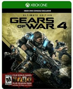 Brand New Gears of War 4: Ultimate Edition for Xbox One or One S - Free Shipping