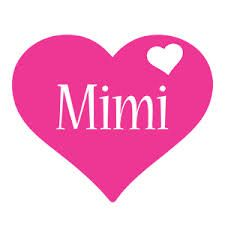 Download images for the name Mimi   mimi logo colors style these ...