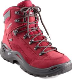 Function meets fashion so you can make a statement on the trail. The women's Lowa Renegade Gore-Tex Mid offer a low-profile and lightweight pep in your step as you explore new terrain. Waterproof, breathable and supportive, this is a pair of hiking boots that will help you revel in the beauty of the outdoors. Shop now at REI.com.