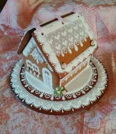 Sweetheart Cottage, gingerbread house gingerbread decorated cookies, decorated gingerbread