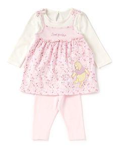 Winnie the Pooh Baby Dress and Leggings | | George at ASDA