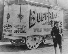 Buffalo Bill Wild West Show 1890s 8x10 Reprint Of Old Photo