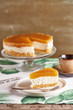 Laktózmentes barackos túrótorta | Street Kitchen Eat Dessert First, Paleo, Cake Cookies, Macarons, Vanilla Cake, Sweet Tooth, Cheesecake, Food And Drink, Baking