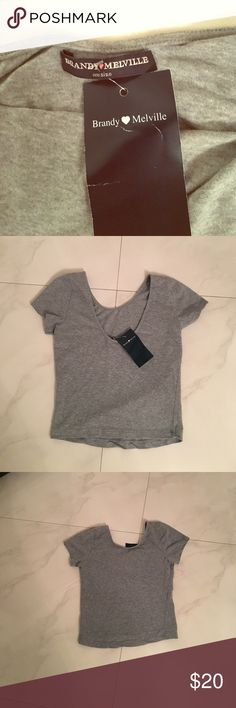 NWT BRANDY MELVILLE TOP Super sexy and cute Brandy Melville Too Brandy Melville Tops Crop Tops