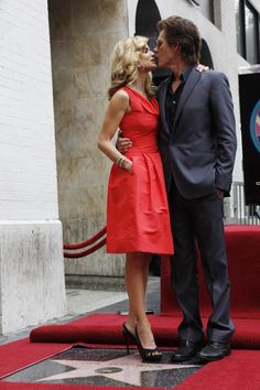 Kevin and Kyra and her Star on the Hollywood Walk of Fame,she received for Televison. Kevin has received his Star in - - Kyra Sedgwick, Kevin Bacon, Hollywood Walk Of Fame, Old Hollywood, Longest Marriage, An Affair To Remember, The Rite, Great Women, Actor