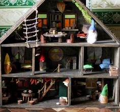 #doll_house #wooden_house #waldorf_house #waldorf_toy