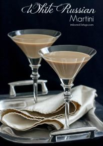 White Russian Martini -