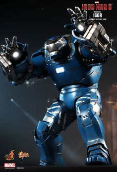 Hot Toys : Iron Man 3 - Igor (Mark XXXVIII) Collectible Figure 1/6th scale Collectible Figure
