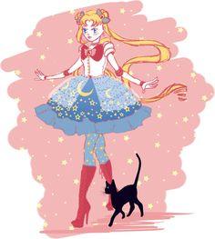Lolita Moon by VanityElric on DeviantArt Sailor Moon Stars, Sailor Moon Fan Art, Sailor Moon Usagi, Sailor Moon Wedding, Princesa Serenity, Sailor Moon Wallpaper, Moon Princess, Phineas And Ferb, Sailor Scouts