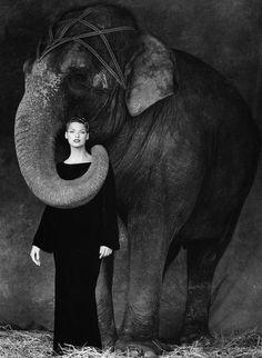 1994. Model Linda Evangelista. Photo by Steven Meisel (B1954)