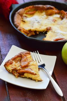 This custardy and flavorful German Apple Pancake is made from a simple batter poured over caramelized apples, then baked until…