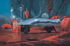 Paintings | Official Website Of Syd Mead