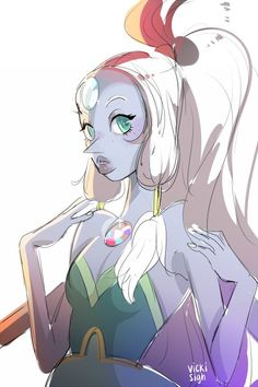 Opal- Steven Universe pearl and aymthest all I wanna do is see you turn into a giant women a giant women