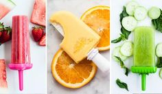National Creamsicle Day: Here Are 3 Simple But Best-Tasting Creamsicle Recipes Ice Cream Freeze, Orange Juice Concentrate, Fruit Popsicles, Orange Creamsicle, Ice Ice Baby, Frozen Treats, Yummy Treats, Smoothie, Dessert Recipes