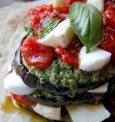 ricetta parmigiana fredda