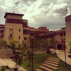 Examples of Bhutanese architecture at UTEP...Beautiful