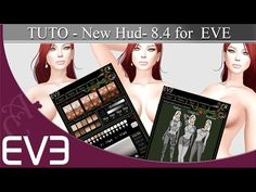 New HUD For EVE 8.4 in second life - tuto - YouTube