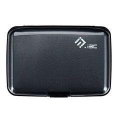 I3C Étui Carte de Crédit Blocage RFID Portefeuille Pochette en Aluminium Cadeau Saint Valentin (Gris): Cet article I3C Étui Carte de Crédit…