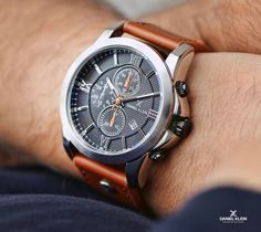 Trendy Watches, Watches For Men, Omega Watch, Leather, Accessories, Top Mens Watches, Men's Watches, Men Watches, Jewelry