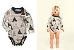 Lojadada : Mini & Maximus, MILLION LITTLE FACES Gray Onesie