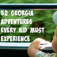 52 Georgia adventures every kid MUST experience - 365 Atlanta Family Georgia Girls, Georgia Usa, Atlanta Georgia, Visit Atlanta, Savannah Georgia, Moving To Georgia, Georgia On My Mind, Travel With Kids, Family Travel