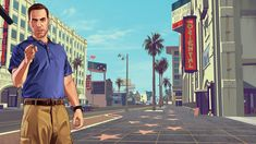 Grand Theft Auto, Gta 5, Rockstar Games, Screened In Porch, Social Club, Modern, Art, Los Angeles, Art Background